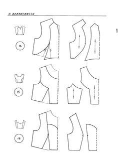 Variation on bodice sloper