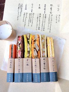 這三明治老闆肯定是個文青, 把這些三明治用世界文學「人參失格」、「我是鰹」、「火腿(哈姆)雷特」.......來取名,還真的是很有梗的啊!