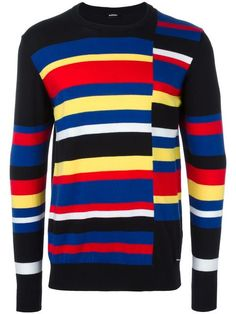 Diesel striped sweatshirt