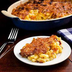 Speck-Makkaroni und Käse