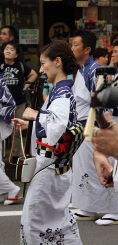 OWARA KAZENOBON おわら風の盆 Japanese festival (MATURI)