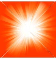 Orange color burst vector image on VectorStock Orange Zest, Orange Yellow, Burnt Orange, Orange Color, Vermillion Red, Channel Orange, Orange You Glad, Sacral Chakra, Orange Crush