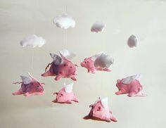 Flying pig mobile !!!!