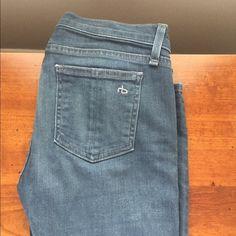 Rag-bone jeans Classic blue jeans. Worn once. rag & bone Jeans Skinny