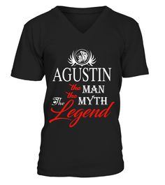 # AGUSTIN THE MAN THE MYTH THE LEGEND .  AGUSTIN THE MAN THE MYTH THE LEGEND  A GIFT FOR THE SPECIAL PERSON  It's a unique tshirt, with a special name!   HOW TO ORDER:  1. Select the style and color you want:  2. Click Reserve it now  3. Select size and quantity  4. Enter shipping and billing information  5. Done! Simple as that!  TIPS: Buy 2 or more to save shipping cost!   This is printable if you purchase only one piece. so dont worry, you will get yours.   Guaranteed safe and secure…