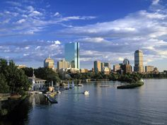 Back Bay, Boston, Massachusetts, USA 40 x 30 stretched canvas print 200.00 art.com