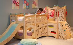 Fully Customizable Rhapsody Bed With Play Area