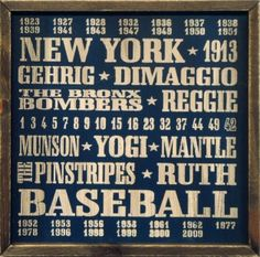 Perfect for your #Yankees fan.