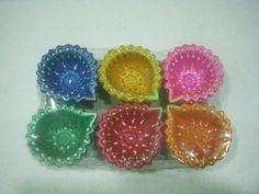 Deccorative Diwali Diya $2~$50 Italian Biscuits, Italian Cookies, Diwali Diya, Diwali Craft, Diwali Decorations, Festival Decorations, Wedding Crafts, Clay Crafts, Quick Easy Meals