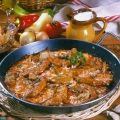 Pork Chops, Curry, Chicken, Meat, Ethnic Recipes, Food, Red Peppers, Curries, Essen