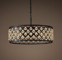 "Spencer Hoop Chandelier 32"" $2321"