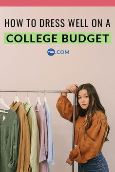 Here are 3 essential tips for dressing well on a college budget. College Student Budget, Online Discount, Student Discounts, Dress For Success, Saving Tips, Well Dressed, Nice Dresses, Budgeting, Wellness
