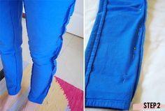 Fix pants that are too big