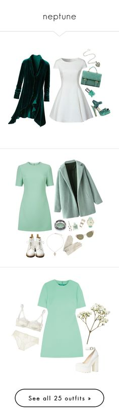"""""""neptune"""" by patpotato ❤ liked on Polyvore featuring Glamorous, ASOS, Canmake, McQ by Alexander McQueen, Hard Candy, Topshop, 2b bebe, Dr. Martens, Monsoon and Dolce&Gabbana"""