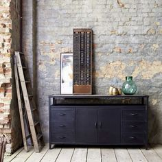 Industriel Metal Sideboard/ TV Stand 160
