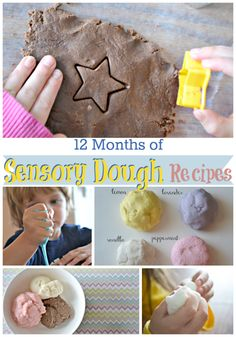 A Year of Sensory Dough Recipes and The Best Kid Blogger Posts of 2014