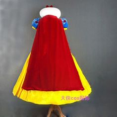 Top Quality Custom made Snow White Princess Dress Cosplay Costume Halloween Party Adult Women Or Girl Wholesale