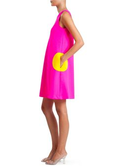 Sleeveless Circle Dress | Lisa Perry Circle Pocket Dresses | Lisa Perry