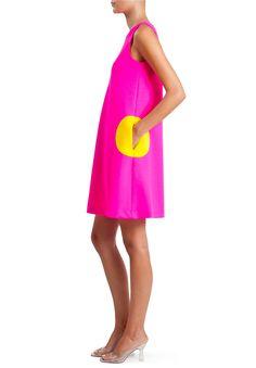 Sleeveless Circle Dress | Lisa Perry Circle Pocket Dresses | Lisa Perry