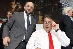SPD-Chef Sigmar Gabriel verzichtet auf die Kanzlerkandidatur und schlägt den bisherigen EU-Parlamentspräsidenten Martin Schulz als Herausforderer von Kanzlerin Angela Merkel vor. Schulz solle auch Parteichef werden, sagte Gabriel am Dienstag nach Teilnehmerangaben in der SPD-Fraktionssitzung in Berlin