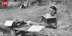 Photos from summer camps for grownups in the late 1950s: art colonies and workshops where college students and full-blown adults honed their artistic chops in the great outdoors.