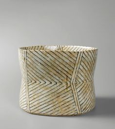 gertrud vasegaard's (1913-2007) stoneware bowls and vases are beautifully decorated with warm colors — ochres, umbers, grays, blues and sage — and with subtle abstract patterns &#…