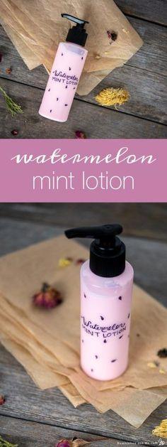 Watermelon Mint Hand Diy Lotion, Lotion Bars, Natural Face Beauty Tips, Natural Skin, Natural Soaps, Watermelon Mint Lemonade, Milk Soap, Powder Pink, Diy Skin Care