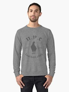 """New York City FC | NYCFC 'Pigeon'  "" Lightweight Sweatshirt by GOBBI-DESIGN | Redbubble"