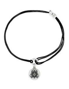 Alex And Ani Healing Love Kindred Cord Bracelet Women's Black