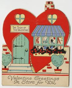 Valentine Greetings In Store for You :: Archives & Special Collections Digital Images :: circa 1910
