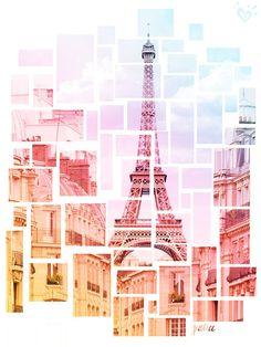 Resultado de imagen para paris eiffel tower drawing friends