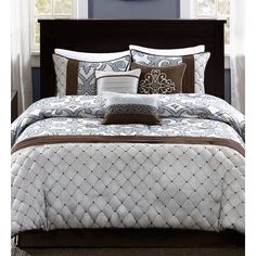Madison Park Crosby 7 Piece Comforter Set | Wayfair