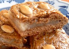Dutch speculaas: spiced, flaky cookie crust with marzipan filling.