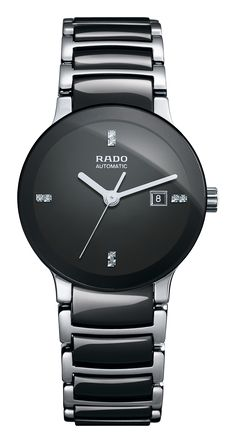 Official Rado Mens watches, full collection of men's and ladies' Rado watches to buy online. Up to 5 years finance and free delivery available on Rado. Swiss Made Watches, Fine Watches, Cool Watches, Watches For Men, Wrist Watches, Ladies Watches, Stylish Watches, Black Stainless Steel, Stainless Steel Bracelet