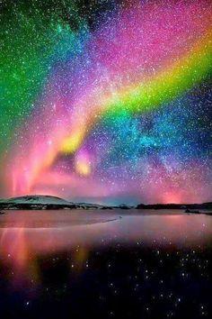 Alaska'da büyülü bir gece