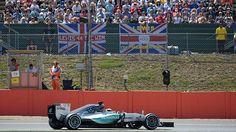 Lewis Hamilton consigue la pole 46 de su carrera deportiva, en el GP Gran Bretaña F1 2015.