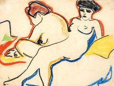 Ernst Ludwig Kirchner, de 1905,