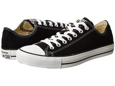 Size 9.5 womens. Love the black. Converse Chuck Taylor® All Star® Core Ox Black - Zappos.com Free Shipping BOTH Ways