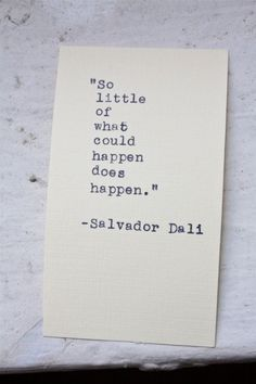 Wise words by Salvador Dali #Inspiration #Zitat