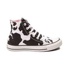 d006e0745880 Converse All Star Cow Print Hi-Top Sneakers
