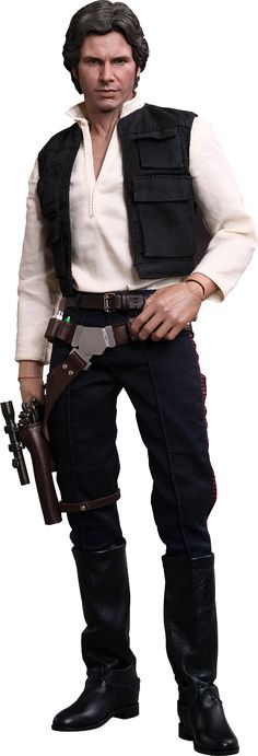 Han Solo Sixth Scale Figure by Hot Toys Movie Masterpiece Series