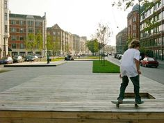 Sønder Boulevard, Copenhagen Denmark by SLA Urban Landscape, Landscape Design, Public Space Design, Public Spaces, Public Realm, Copenhagen Denmark, Urban Life, Urban Design, Landscape Architecture