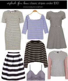 Stylish For Less: Classic Stripes Under $50