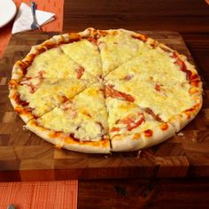Home made pizza,