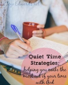 As a new mom I really struggled to get my time with God each day. That didn't change as I had more children so I had to learn to be creative with my quiet time. I'm sharing 7 practical ways that you can make the most of the time you do have when you sit down with your bible in hand.