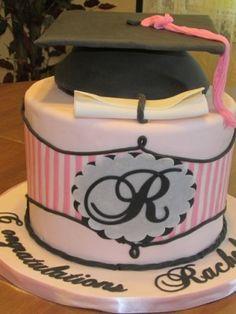 Rachels Grad Cake High School Graduation 2015 Ideas Decorations