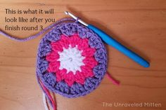 May Flowers Granny Square
