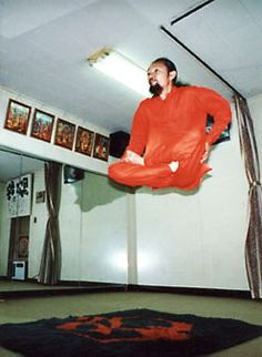 This is what real human levitation looks like.