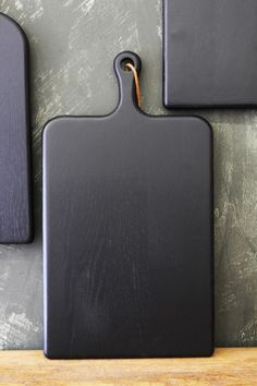 Black Oak Chopping Board - 3 Sizes Available - Kitchen Accessories - Kitchen