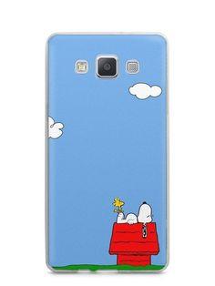 Capa Capinha Samsung A7 2015 Snoopy #3 - SmartCases - Acessórios para celulares e tablets :)